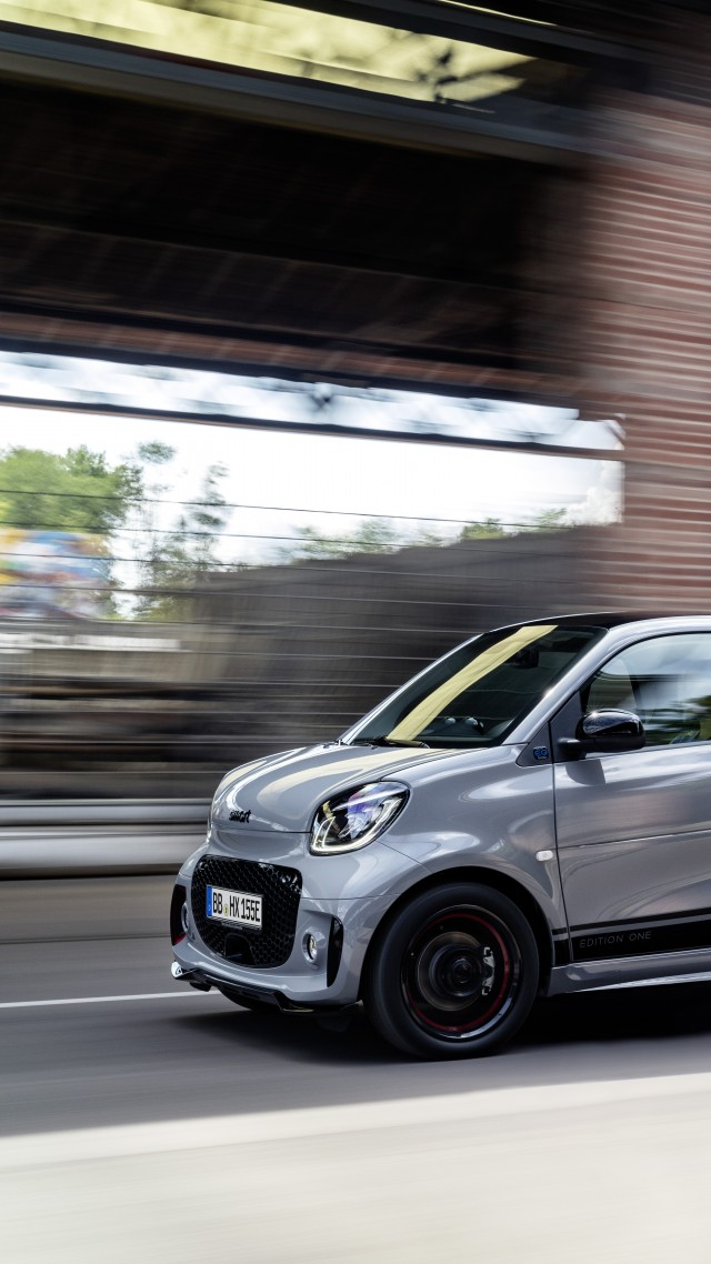 Smart EQ fortwo, 2020 cars, electric cars, 8K (vertical)