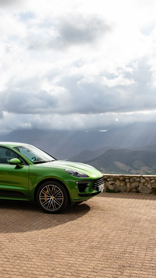 Porsche Macan Turbo, 2020 cars, SUV, crossover, 5K (vertical)