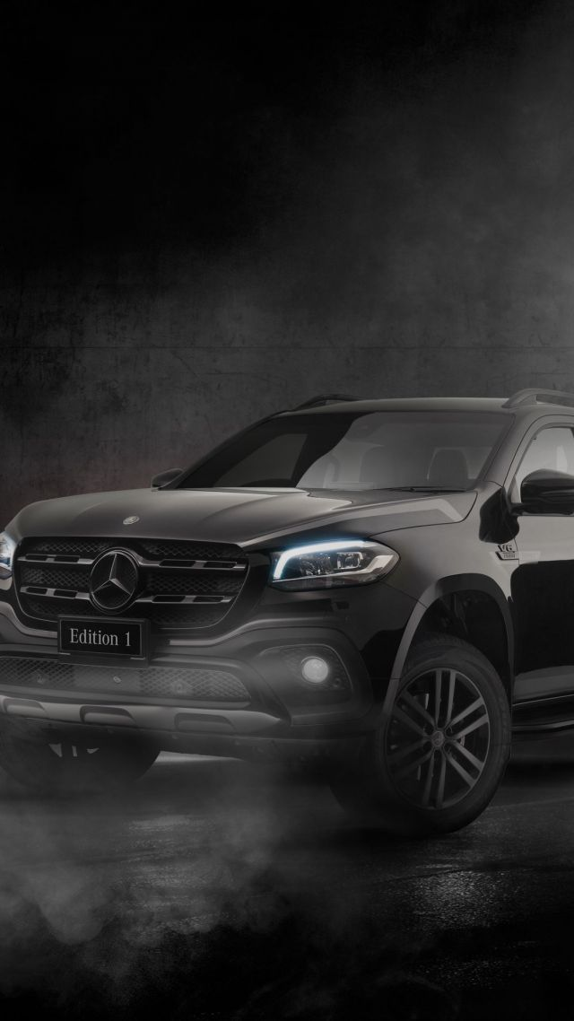 Mercedes-Benz X350 Edition 1, SUV, 2019 cars, 4K (vertical)