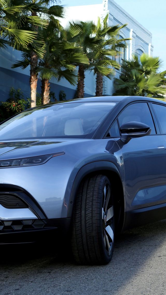 Fisker Ocean, SUV, CES 2020, electric car, 5K (vertical)