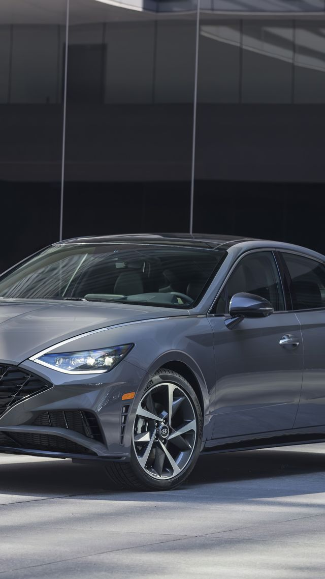 Hyundai Sonata Limited, 2020 cars, 5K (vertical)