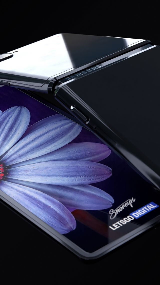 Wallpaper Samsung Galaxy Z Flip Foldable Smartphone 4k Hi Tech 22499