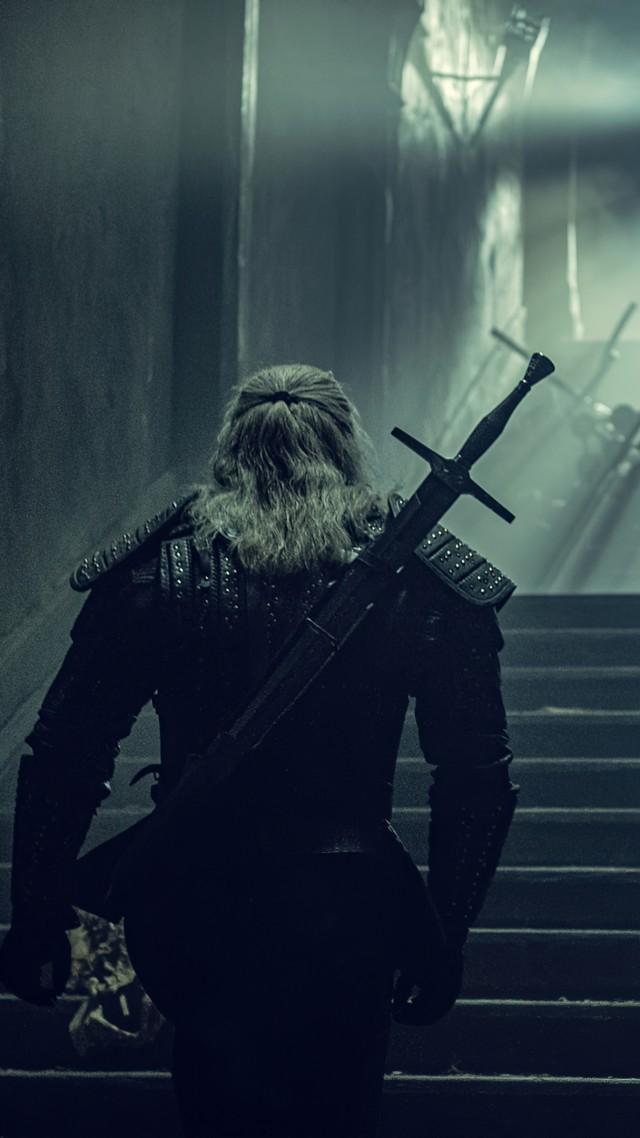 The Witcher, poster, Henry Cavill, 4K (vertical)