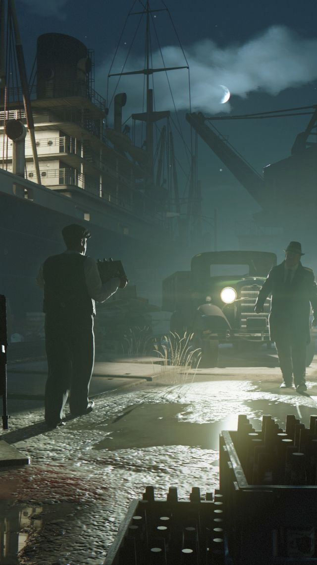 Mafia: Definitive Edition, Mafia: Trilogy, screenshot, 4K (vertical)
