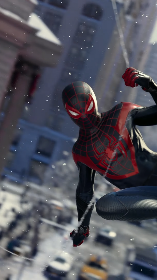 Spider-Man: Miles Morales, gameplay, PS5, PlayStation 5, BLM (vertical)
