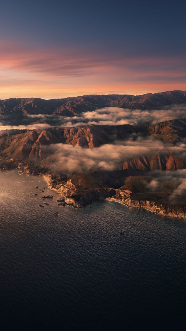 macOS Big Sur, sunset, Apple October 2020 Event, 5K (vertical)