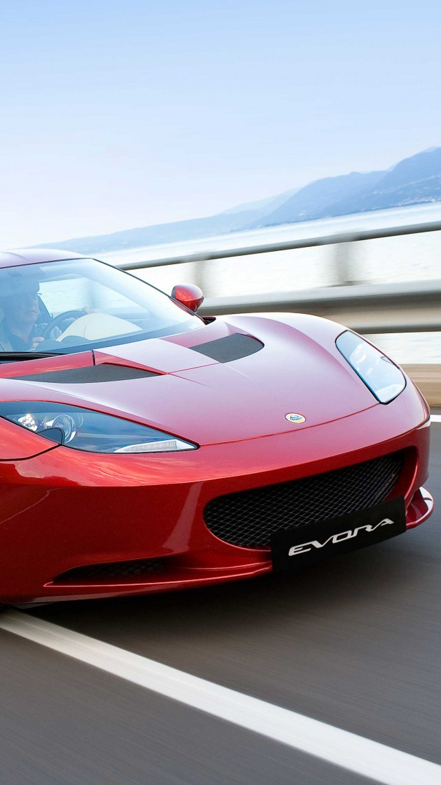 Lotus Evora S, supercar, Lotus, sports car, luxury cars, review, red, test drive, buy, rent (vertical)