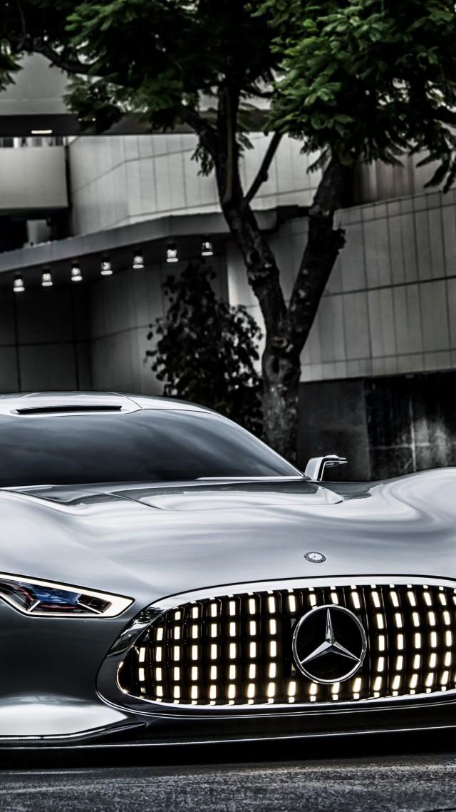 ... Mercedes Benz AMG Vision, 5k, 4k Wallpaper, Supercar, Gran Turismo,