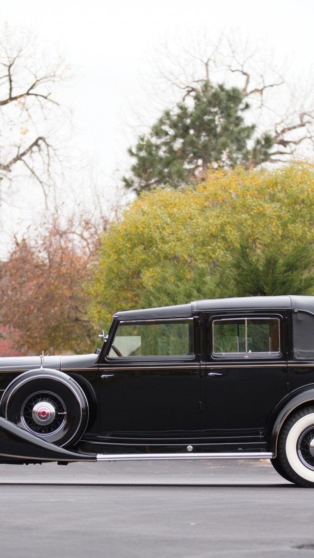 Packard Twelve, retro, Packard, classic cars, luxury cars, side, sports car, rent, buy (vertical)