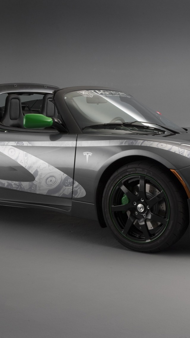 Wallpaper Tesla Roadster Electric Cars Best Electric