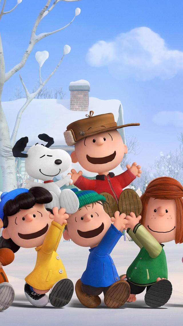 Wallpaper The Peanuts Movie 2015 Cartoon Film Movie Dog Puppy