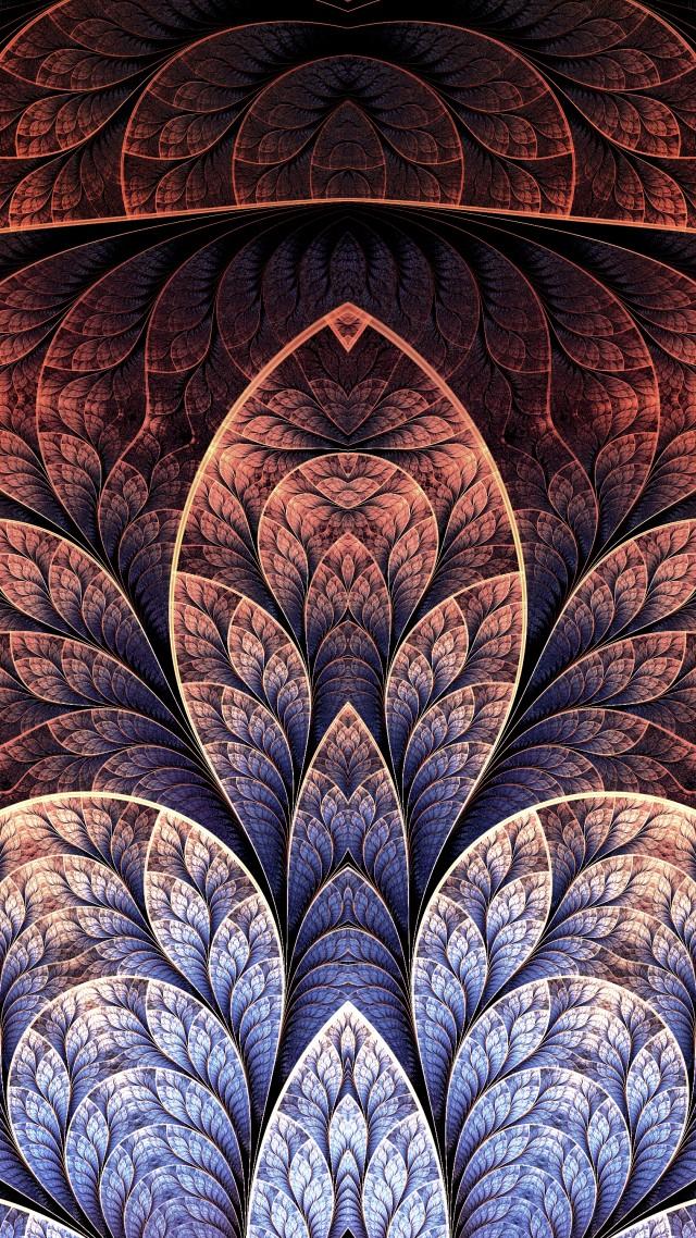 Wallpaper Pattern 4k 5k Wallpaper Leaf Brown Background Os