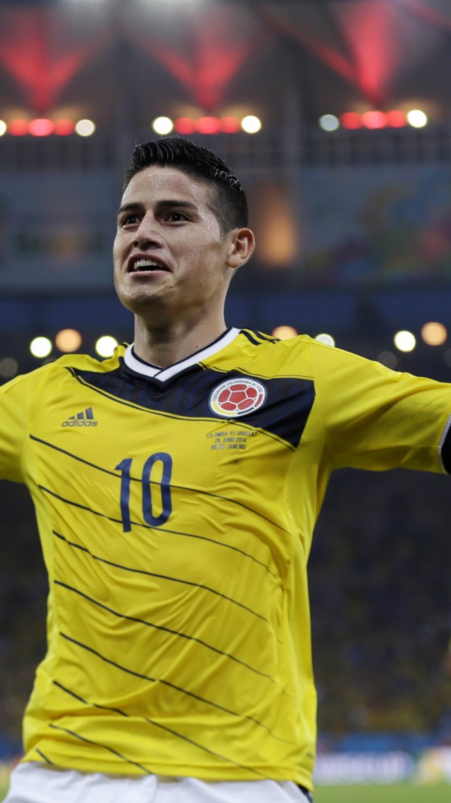 Football James Rodriguez Soccer The Best Players 2015 FIFA World Cup