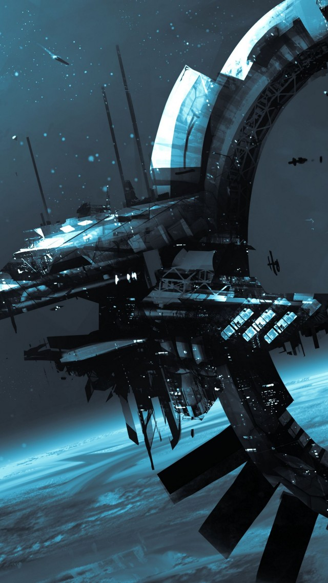 Star Citizen, game, shooter, space simulator, strategy, cosmos, spaceship, battleship, planet, Best Games of 2015 (vertical)