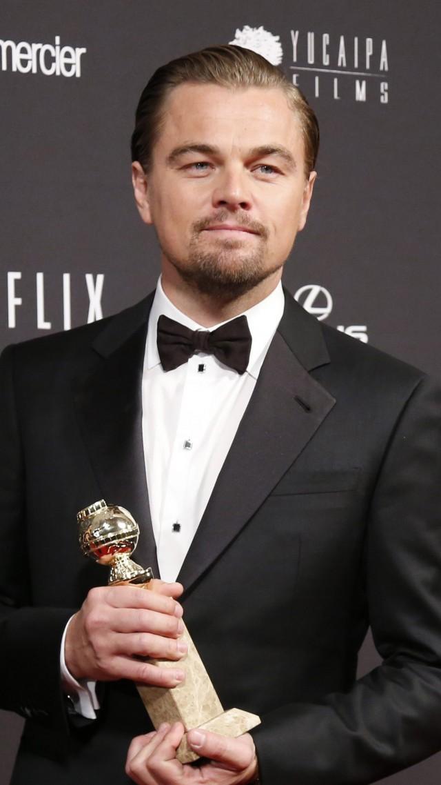 Wallpaper Leonardo Dicaprio 86th Academy Awards Oscar