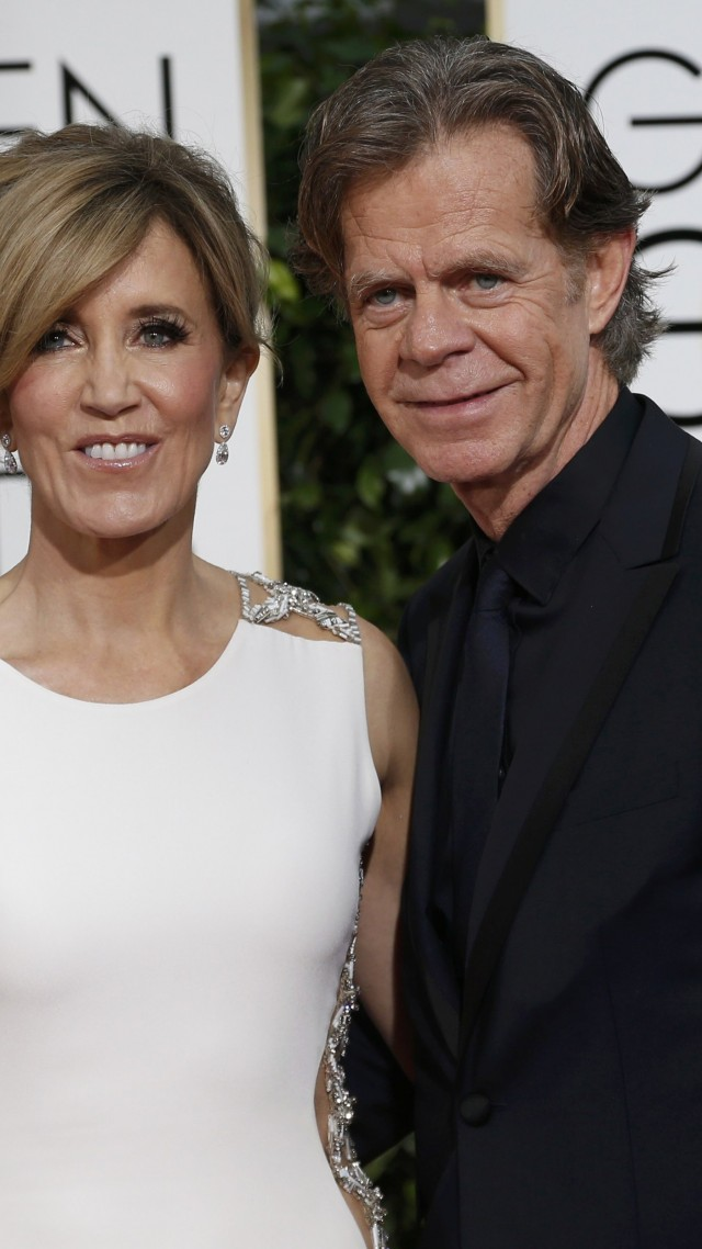 Felicity Huffman, WIlliam Macy, Most Popular Celebs in 2015, actor, screenwriter, stage, television actress (vertical)