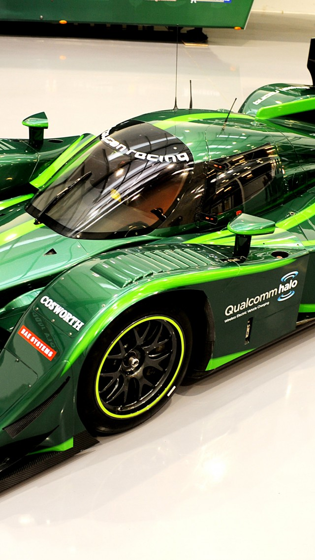 Lola-Drayson B12 69EV, 2015 Electric Cars, sports car, electric cars, green, ecosafe (vertical)