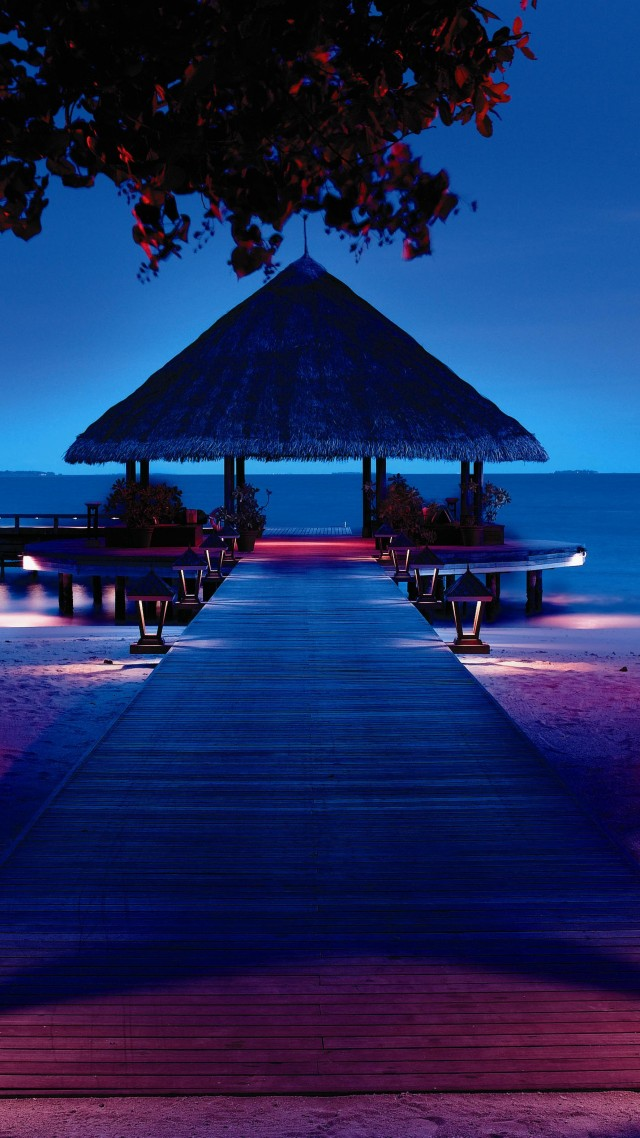 maldives dock wallpaper - photo #29