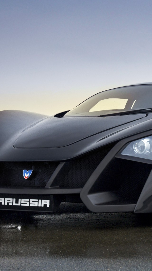 Marussia, supercar, sports car, luxury cars, Russian, front, review, test drive (vertical)