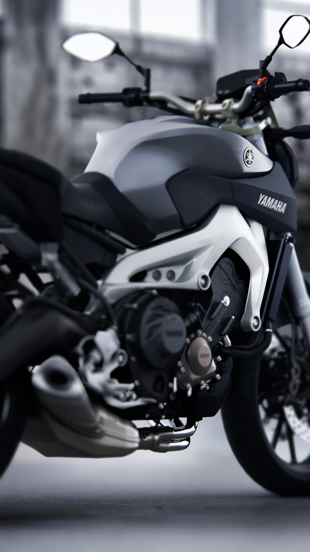 Test Yamaha MT 09 Streetfighter Motorcycle Racing Sport Bike