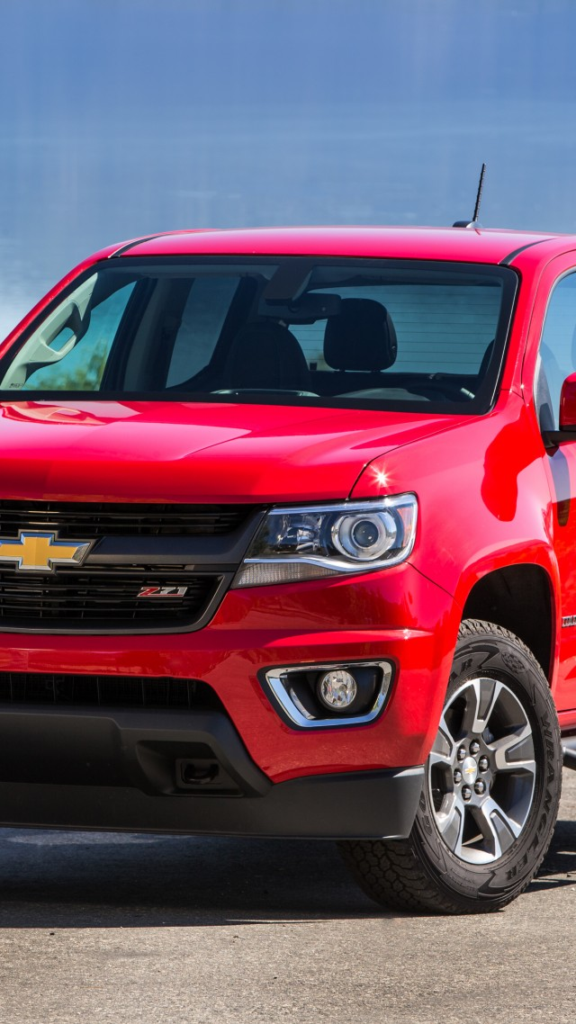 Chevrolet Colorado, Chevy, GMC Canyon, pickup, truck, review, test drive, buy, rent (vertical)