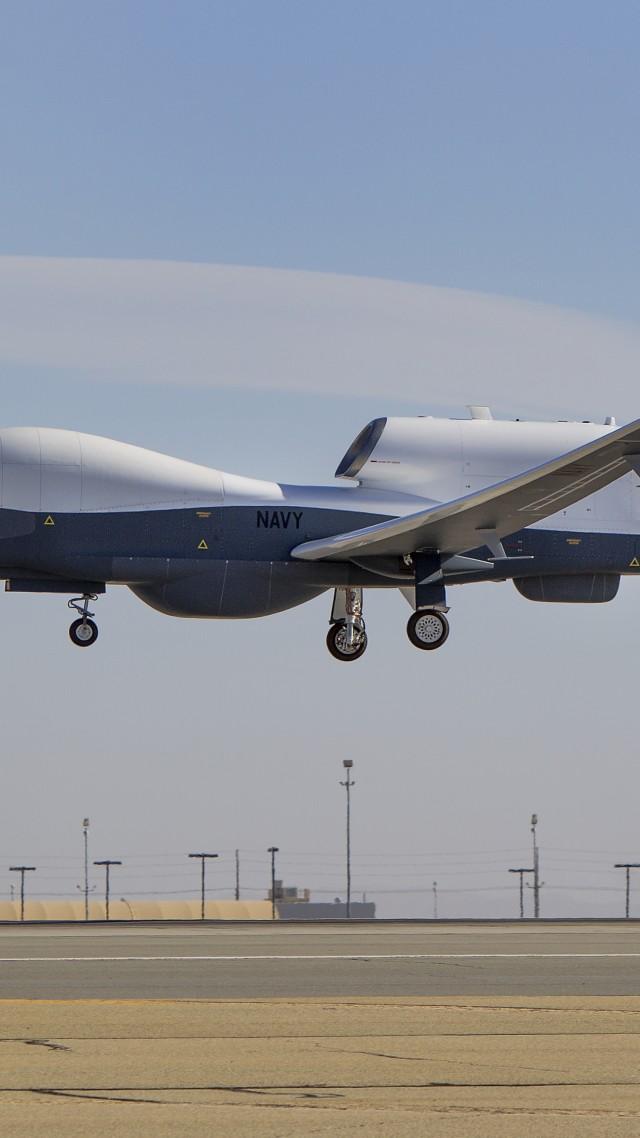 MQ 4C Drone Surveillance UAV USA Army