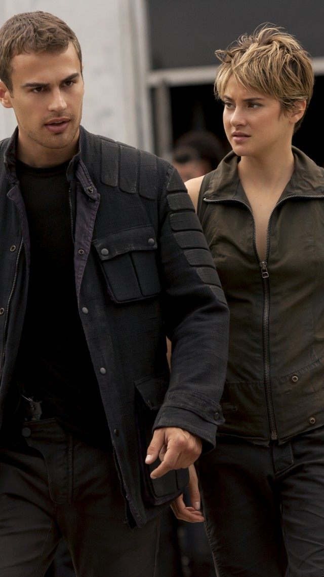 Insurgent, Divergent Series, Best Movies of 2015, Veronica Roth, Shailene Woodley, Theo James, watch, HD, review (vertical)