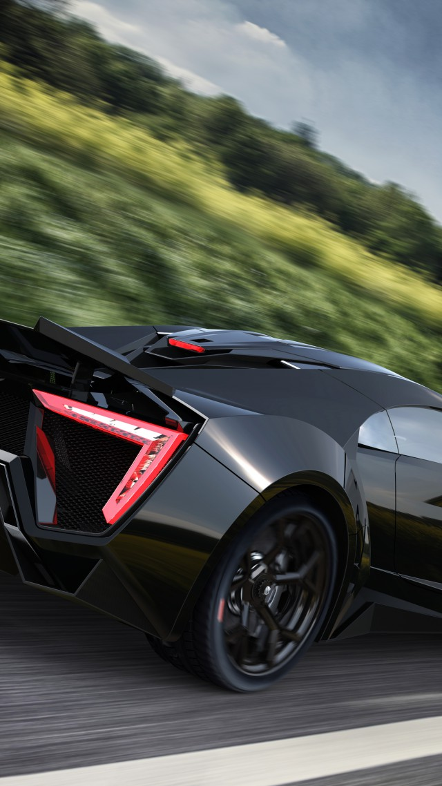 Wallpaper Lykan Hypersport Supercar W Motors Sports Car Luxury