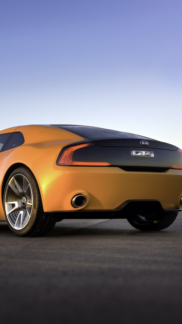 Wallpaper Kia Gt4 Stinger Concept Supercar Luxury Cars