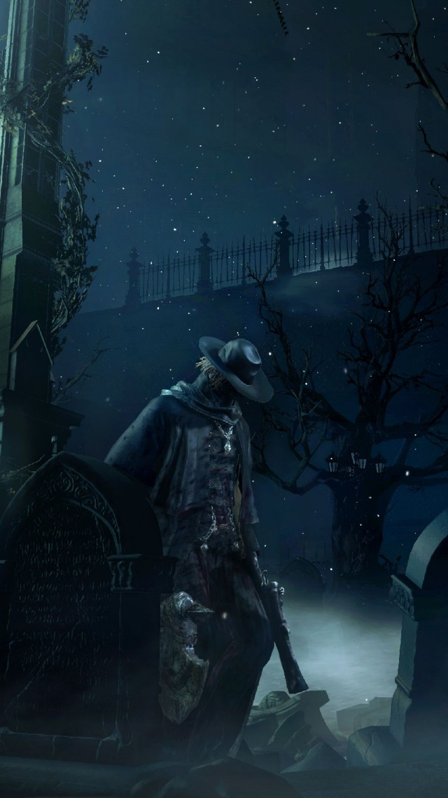 Bloodborne, gameplay, review, screenshot, interface, game, Yharnam, Best Games 2015, Cleric, beast, darkness, fog (vertical)