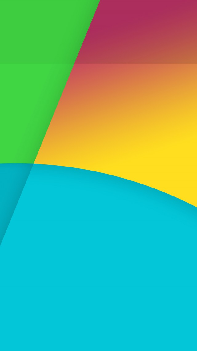 4k 5k Wallpaper Abstract Yellow Blue Green Vertical