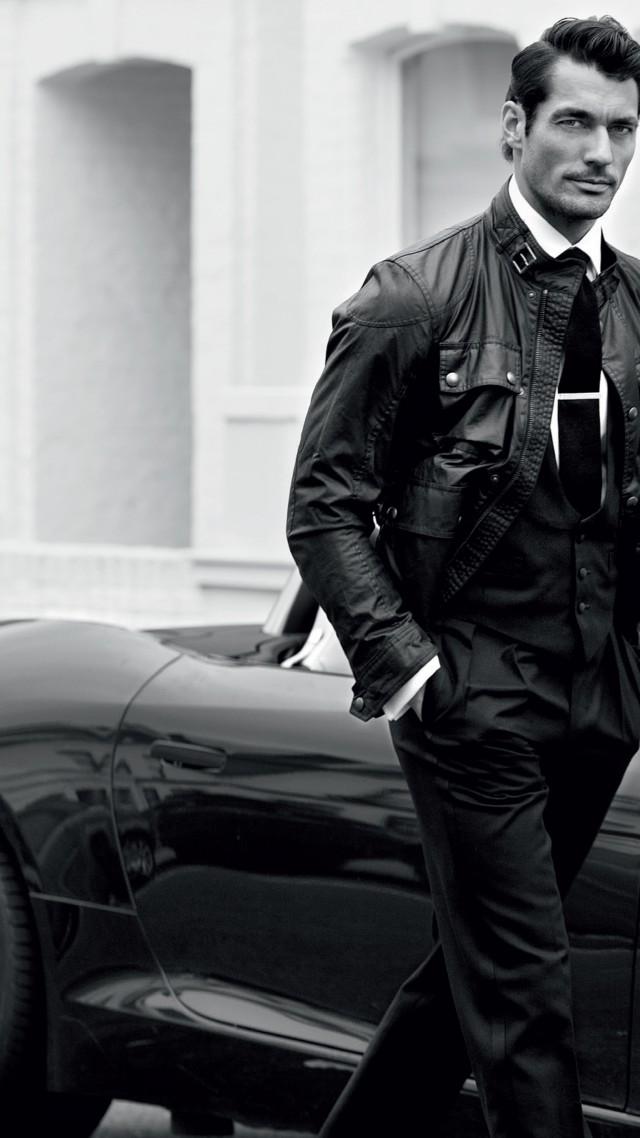 David Gandy Top Fashion Models 2015 Model London UK Car