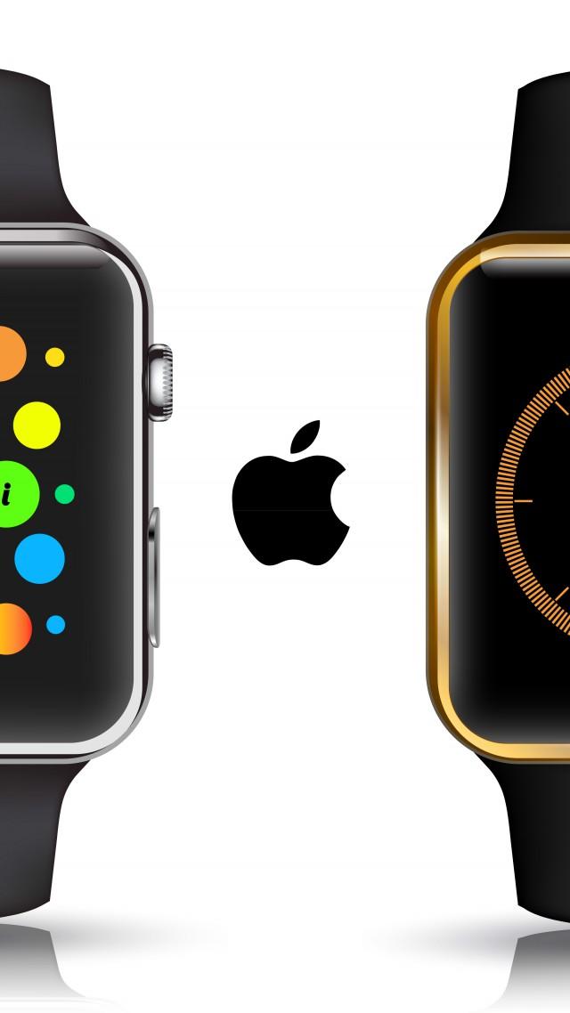 Wallpaper Apple Watch, watches, wallpaper, 5k, 4k, review, iWatch, Apple, interface, display