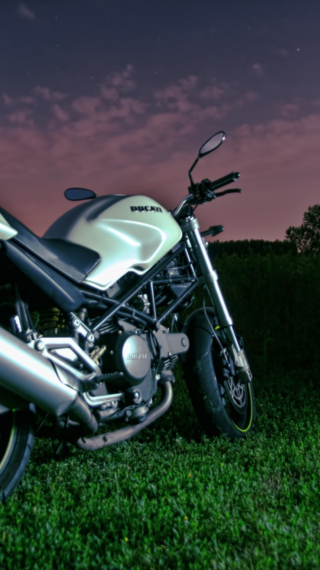 Ducati Monster 796, night sky, motorcycle, racing, bike, sport bike, review, test drive, buy, rent