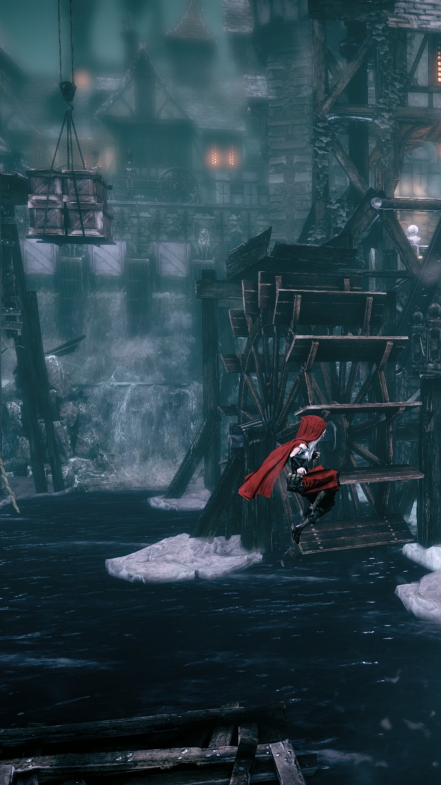Woolfe: The Red Hood Diaries, Best Games 2015, Best Adventure Games 2015, Arcade, Steampunk, Fairy tale, screenshot, PC, PS4, Xbox one (vertical)