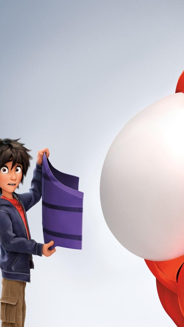 3D Big Hero 6 Cartoon Baymax Hiro Hamada Superhero Review