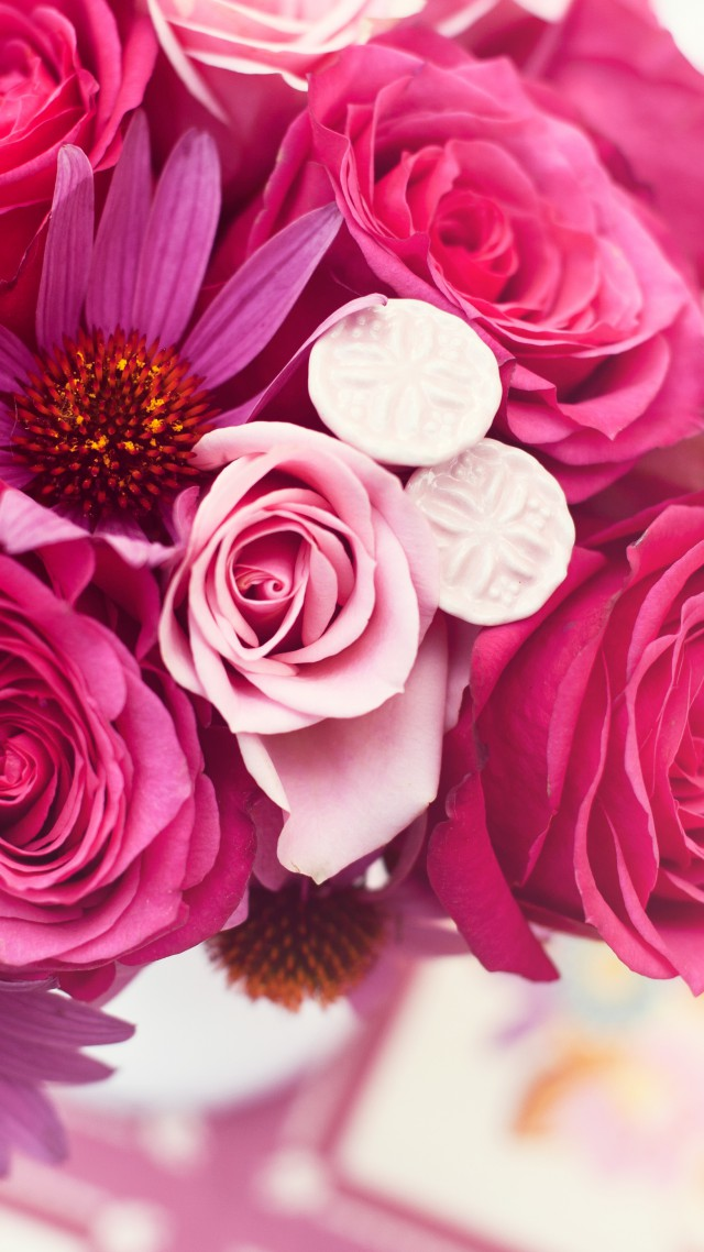 Wallpaper garden roses 4k hd wallpaper flower bouquet pink 4k hd wallpaper flower bouquet pink vertical mightylinksfo