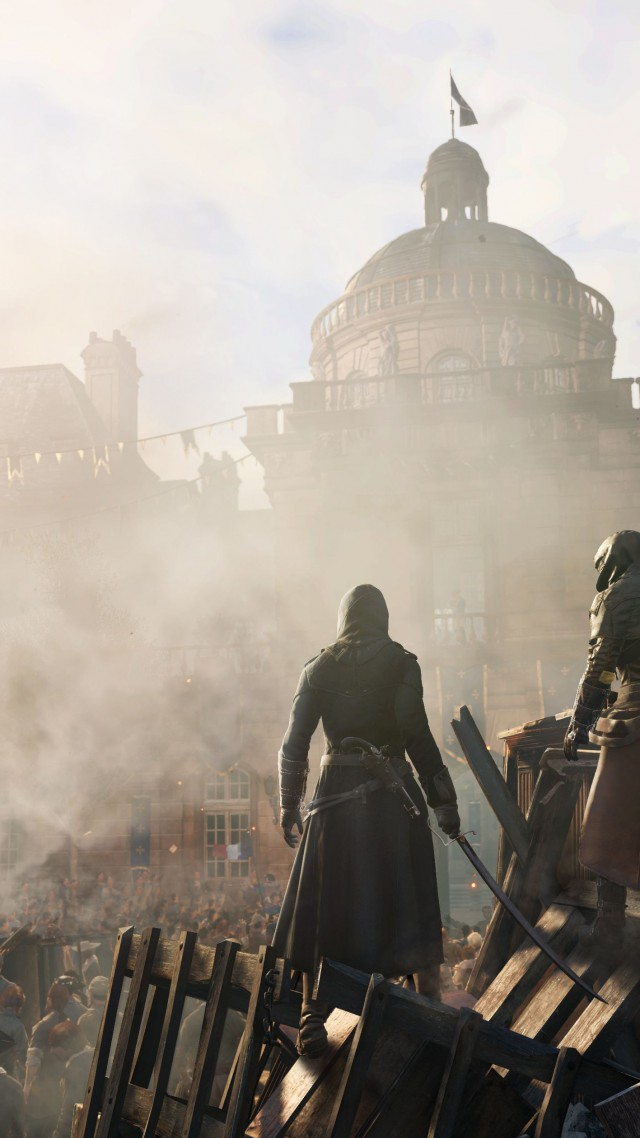 Wallpaper Assassin S Creed Unity Game Stealth Action Game City