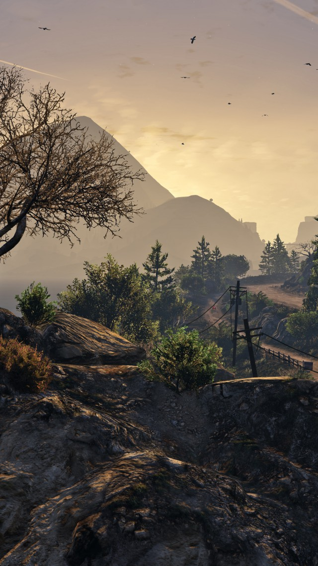 Gta 5 Gta V Grand Theft Auto Game Country Screenshot