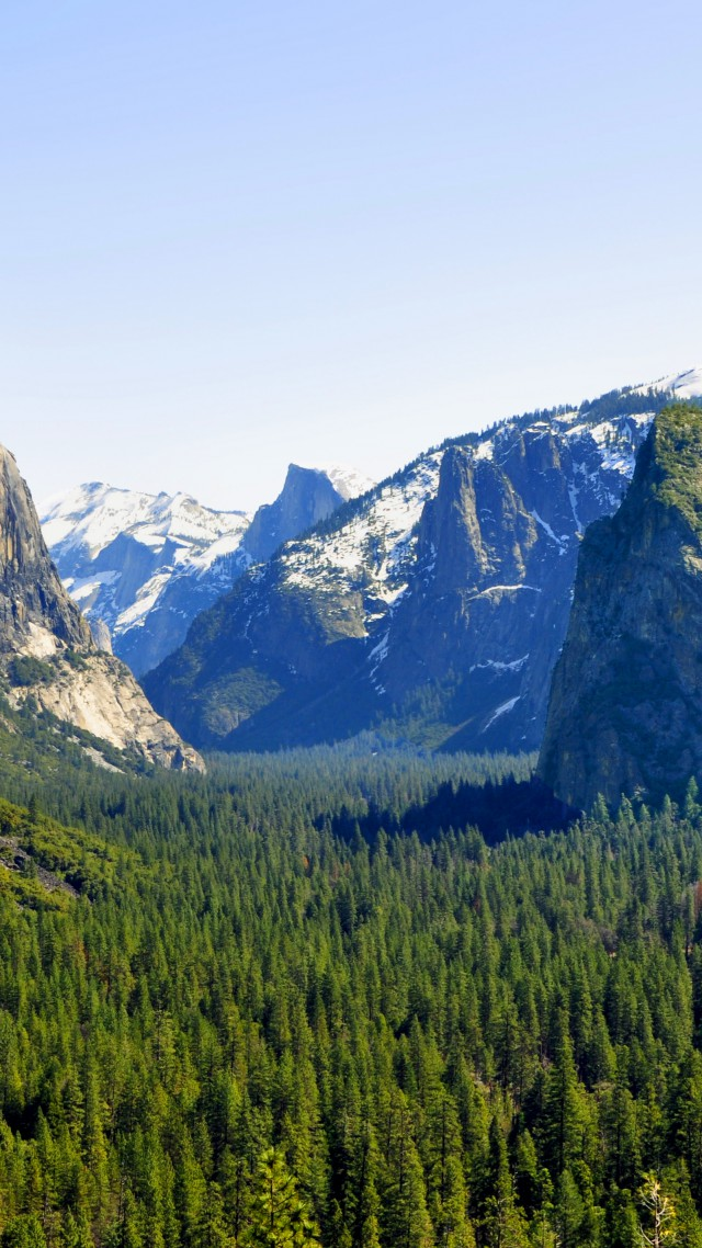 El Capitan, Yosemite, 5k wallpapers, forest, OSX, apple, mountains