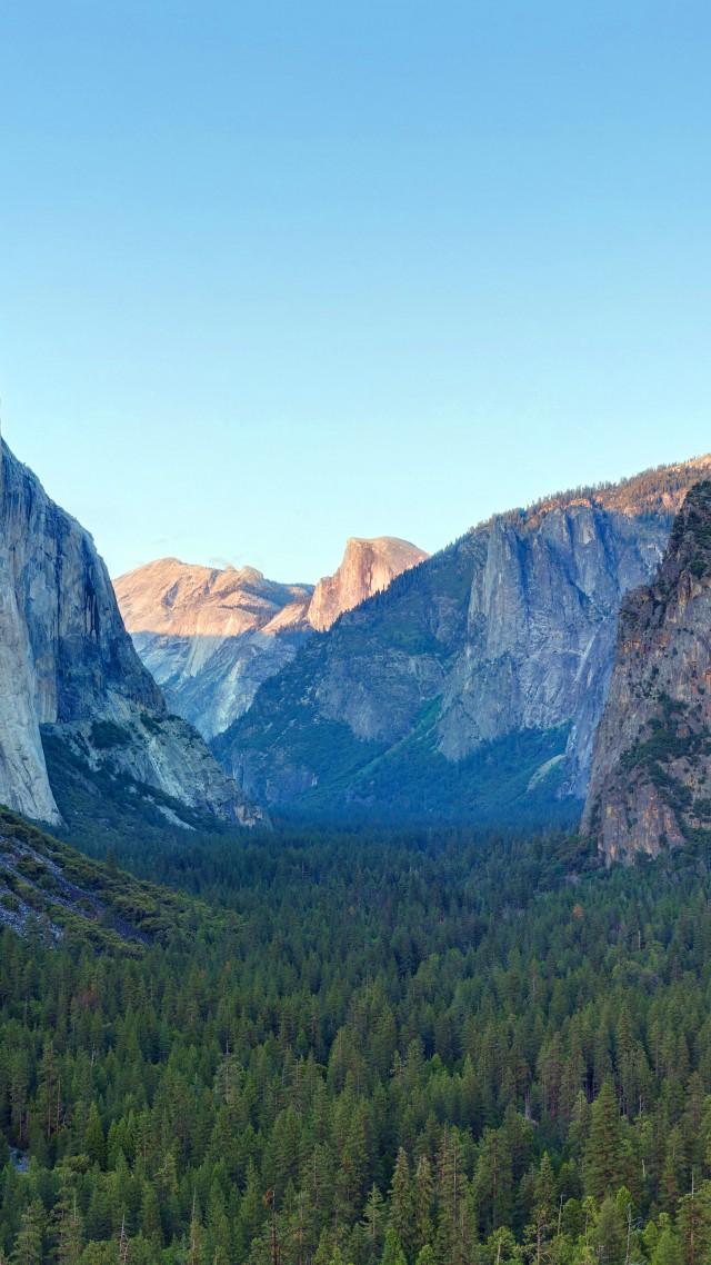Wallpaper Yosemite 5k 4k Wallpaper Forest Osx Apple Mountains