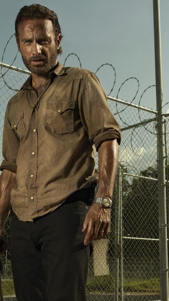 The Walking Dead Best TV Series Of 2015 Andrew Lincoln Chandler Riggs