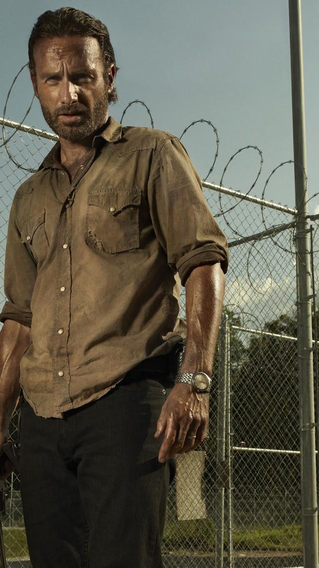 Wallpaper The Walking Dead Best Tv Series Of 2015 Andrew