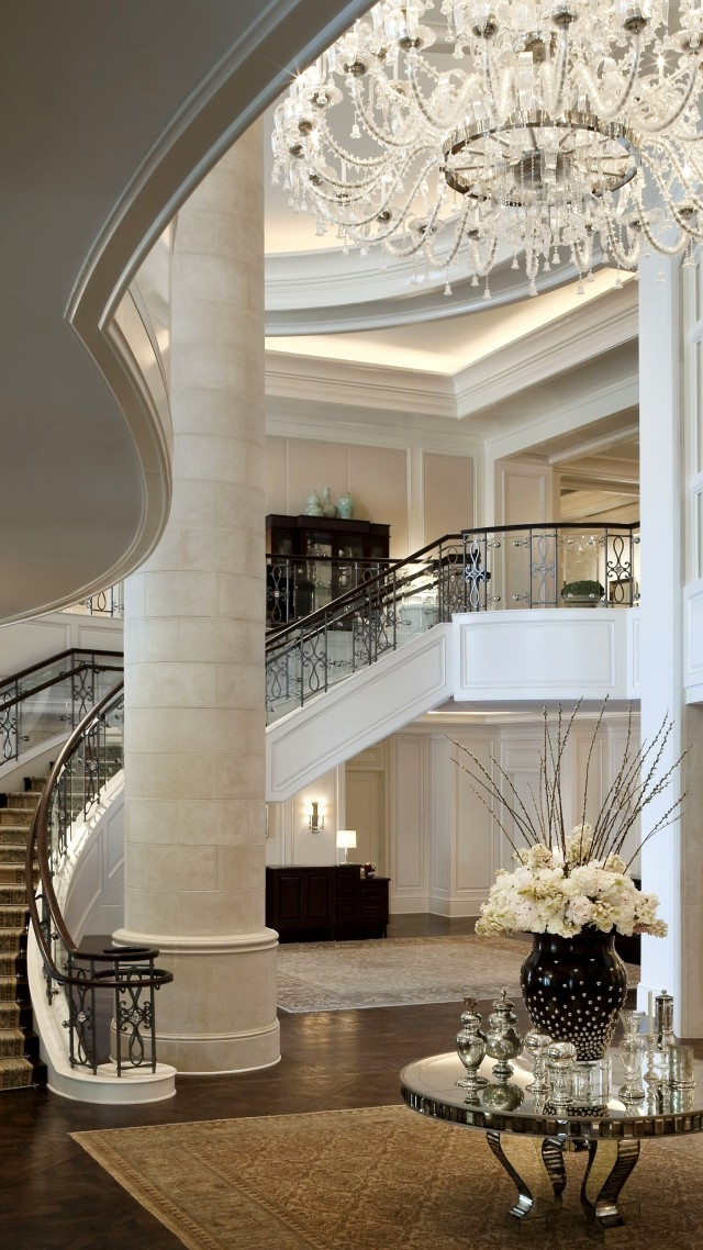 Stock Interiors Com >> Wallpaper Mandarin Oriental Hotel, classical, white, rich, castle, inside, stairs, room, living ...