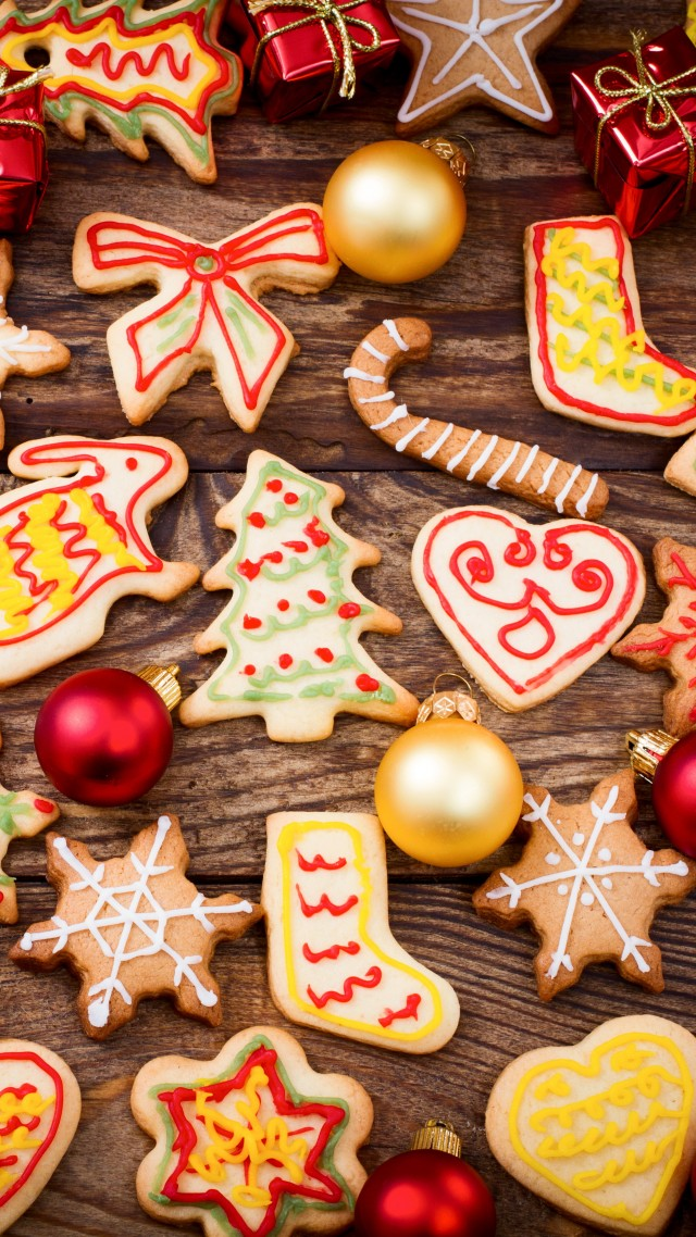 holiday cookies, baking, food, holiday, cookie, shape, herringbone, snowflake, rabbit, heart, gift . (vertical)