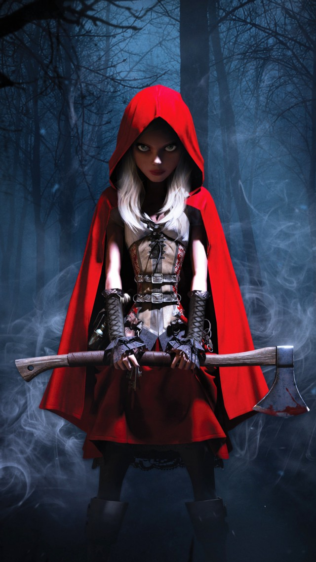 Woolfe: The Red Hood Diaries, Best Games 2015, Best Adventure Games 2015, Arcade, Steampunk, Fairy tale,  (vertical)