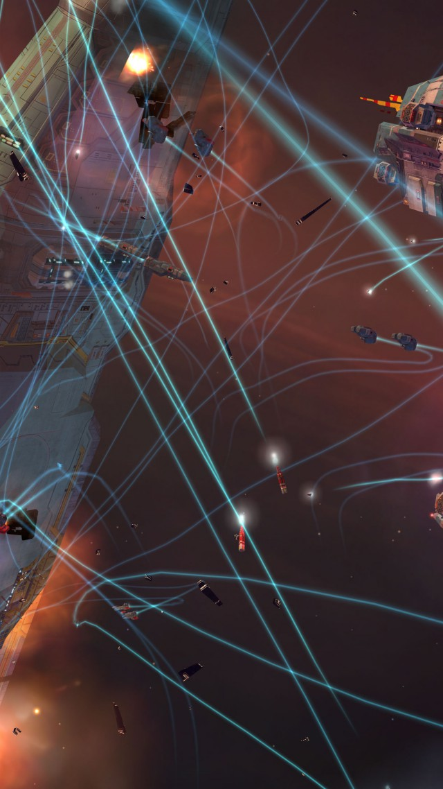 Homeworld Remastered Collection, Best Games 2015, game, sci-fi, space, PC, screenshot (vertical)