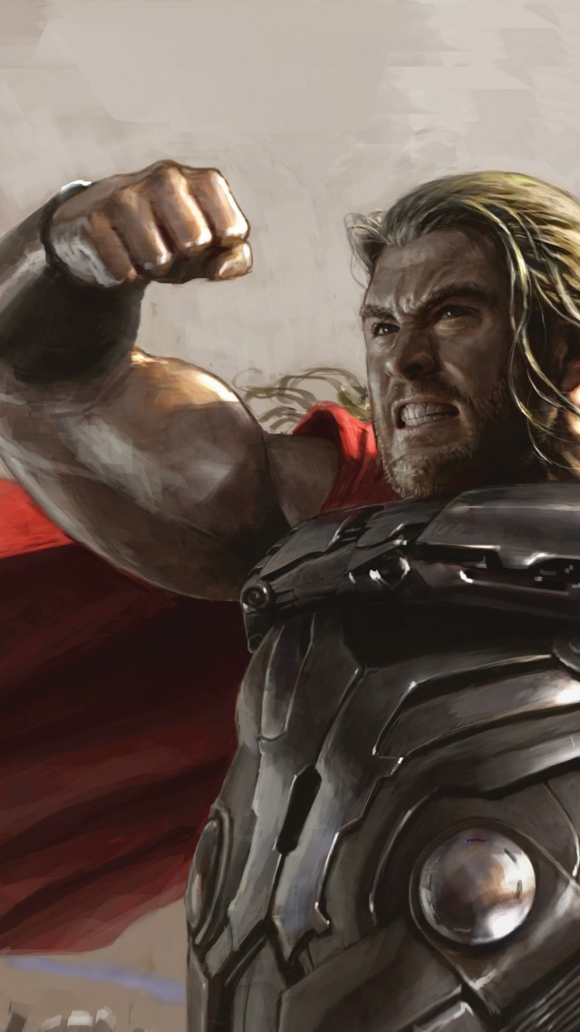 Avengers: Age of Ultron, Best Movies of 2015, Avengers 2, movie, Thor (vertical)