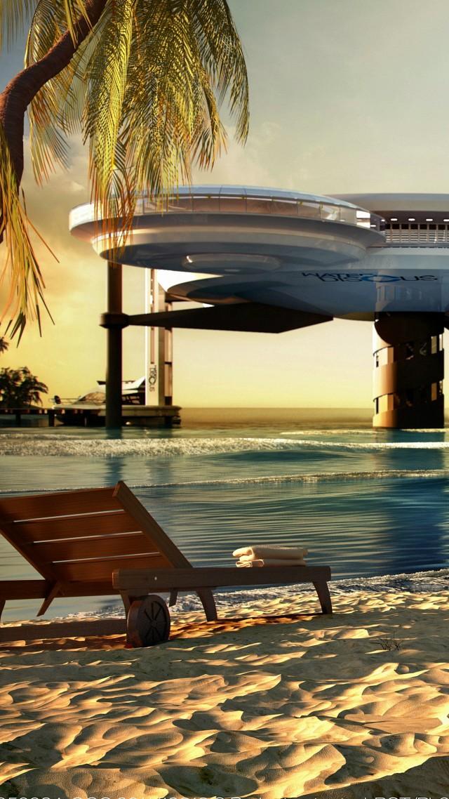 Water Discus Hotel Dubai Sea Ocean Travel Beach
