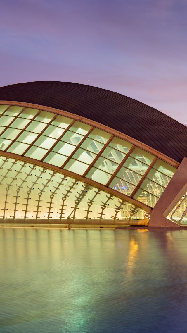 City of Arts and Sciences, planetarium, Valencian, Tourism, Travel (vertical)